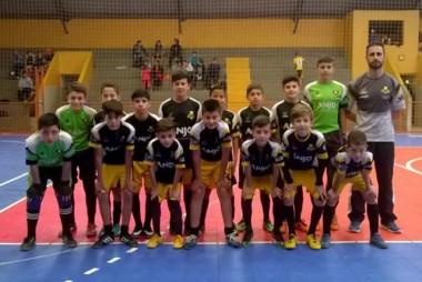 Núcleos de Içara se enfrentam no projeto Anjos do Futsal