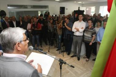 Governador de Santa Catarina inaugura Casa do Jornalista