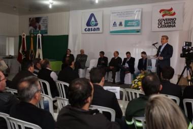 Ampliação da Estação de Esgotos de Catanduvas é inaugurada