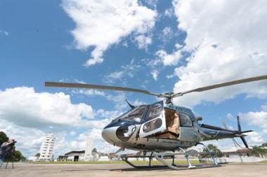 Helicóptero que atende governador fará transporte de órgãos em SC