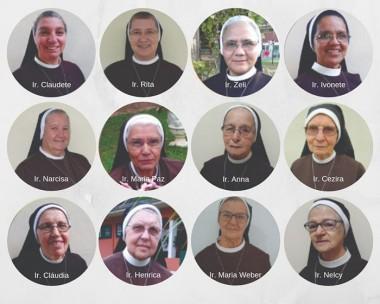 Beneditinas celebrarão jubileu de 12 religiosas em Nova Veneza