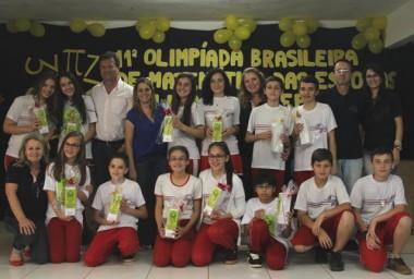Alunos de Içara conquistam 11 medalhas na OBMEP 2016