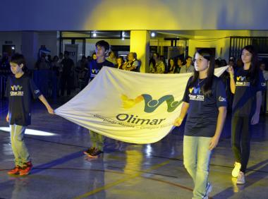 Colégio Marista Criciúma participa da  Olimar 2017