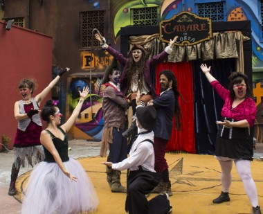 Cia Circo-Íris lança o projeto Pequeno Circo de Variedades