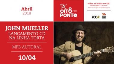 John Mueller faz show do novo álbum no Teatro Álvaro de Carvalho
