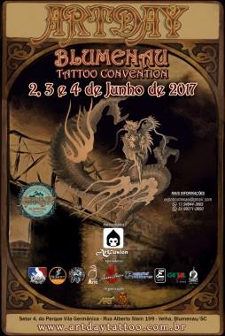 Blumenau recebe convenção internacional de tatuagem