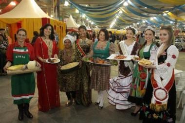 Festa das Etnias não terá restaurantes e sim lanchonetes