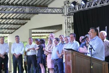 Colombo inaugura pavimentação da SC-477 no Planalto Norte