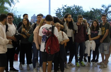 26 intercambistas italianos chegam à Satc