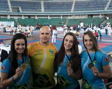 Içarenses voltam com medalhas de Sul-Americano de Karatê no Equador