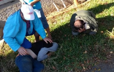 Ladrões são presos pelos próprios moradores na Linha Zilli