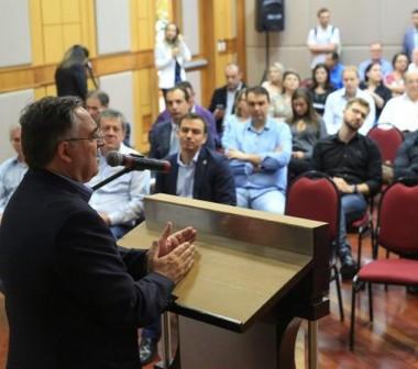 Governador reúne secretariado para apresentar conquistas e desafios de SC