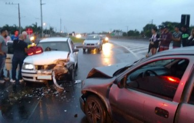 Mais um acidente na BR-101 em São José do Sul