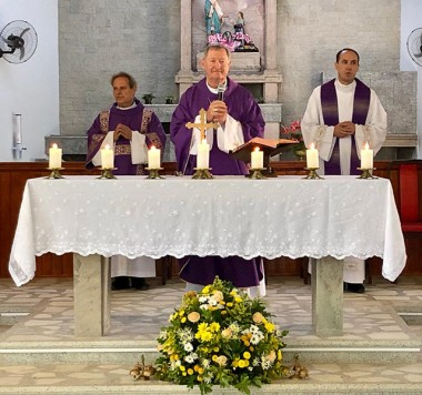 Manhã de Espiritualidade reúne padres em Cocal do Sul