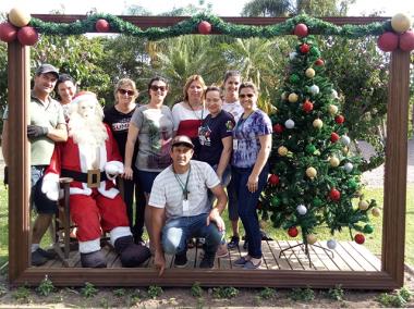 Clima de Natal já está presente em Maracajá