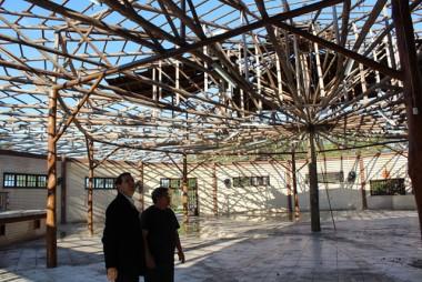 Nova cobertura do Centro de Eventos do Parque Ecológico Maracajá pronta em agosto
