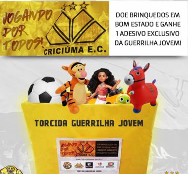 Tigre é parceiro em campanha do Dia das Crianças