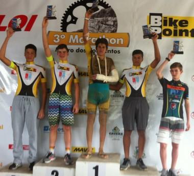 Içara conquista título no Campeonato Catarinense de Mountain Bike