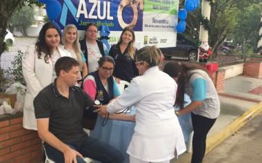 Novembro Azul na praça de Jacinto Machado têm grande procura