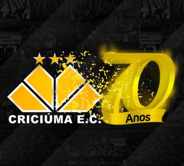 Festividades dos setenta anos do Criciúma Esporte Clube