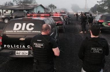 Polícia Civil prende membros de organização criminosa