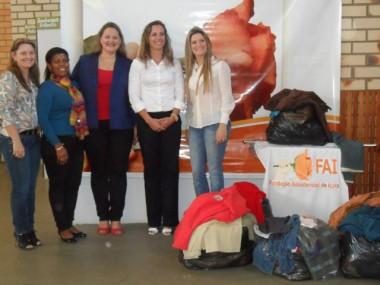 Colaboradores do Tabelionato realizam campanha de agasalho