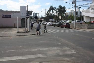 Cadê a sinalização que estava na rua?