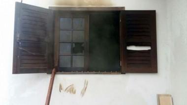 Incêndio é controlado em residência no Balneário Rincão