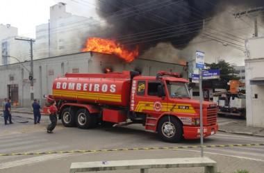 CB emite esclarecimento sobre o incêndio do dia 10