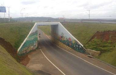 Viaduto do PV continua abandonado pela Administração