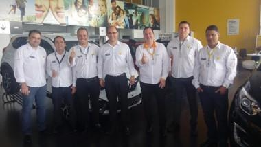 Equipe da Vip Car/Renault é nota 10 em atendimento