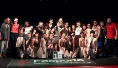 Estudantes do Bairro Aurora vencem festival de dança