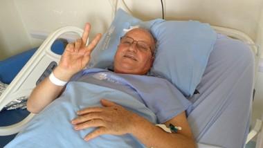 Padre Samiro mantém animado em sua recuperação