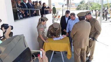Professor da Unisul é nomeado comandante do 5º Batalhão
