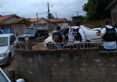 Polícia Civil prende autores de furtos em empresas da região