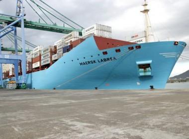 Porto de Imbituba recebe a maior companhia de contêineres do mundo