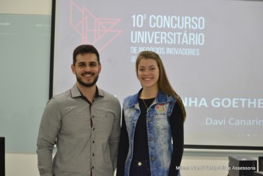 Alunos da Unesc na final do Concurso Universitário