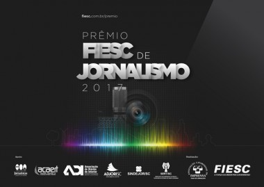Fiesc anuncia finalistas da edição 2017 do Prêmio de Jornalismo