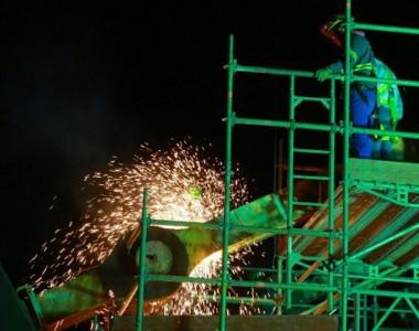 Nova etapa das obras na Ponte Hercílio Luz