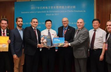 Delegação de SC conclui 1ª etapa de missão à China