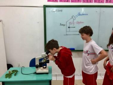 Professor do Quintino Rizzieri aguça conhecimento dos alunos