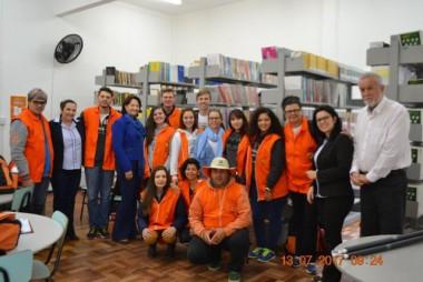 Magangin e Aninha recebem acadêmicos do Projeto Rondon