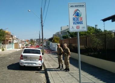 PM registra redução de roubos e furtos em Araranguá