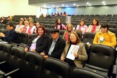 Voluntárias da RFCC participam de seminário em Florianópolis