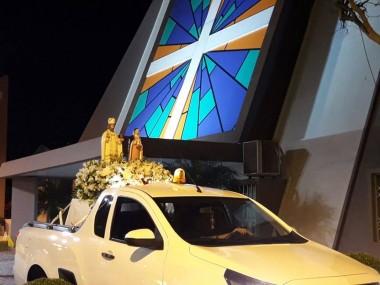 Rio Maina celebra Santo Agostinho e Santa Mônica