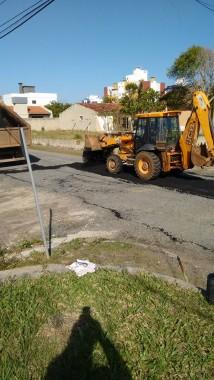 Engenheiro denuncia serviço mal feito na Rua Antonio Pagani