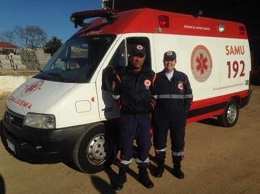 Samu ganha ambulância reserva em Morro da Fumaça