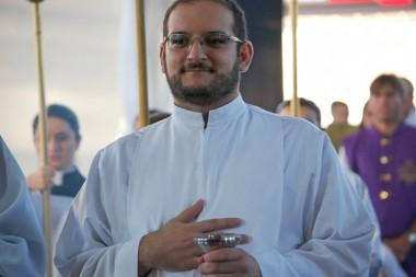 Seminarista Samuel se prepara para sua ordenação diaconal