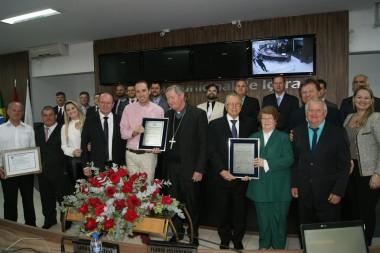 Idealizadores do Santuário são homenageados com sessão especial