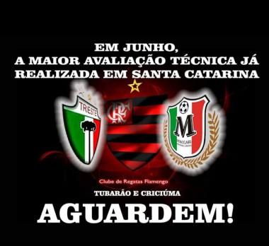 Seletiva para categorias de base do Flamengo será realizada na Satc